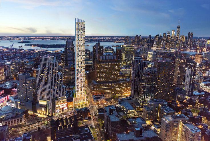 Renderings of Brooklyn Point via Williams New York