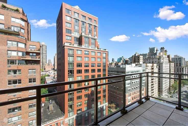 View from the residences at 85 East End Avenue. The 15-story rental is offering a limited time rental concession of one month free. (Image via Douglas Elliman)