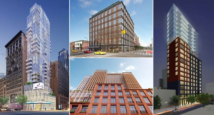 A selection of new projects planned for New York
