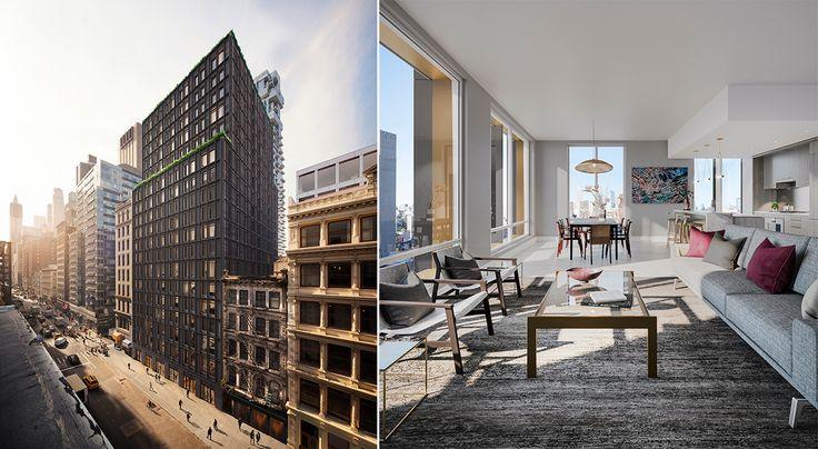 91 Leonard Street renderinga (Toll Brothers City Living)