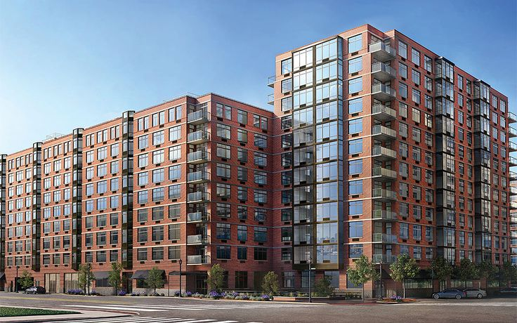 1400 Hudson Street rises as Toll Brothers City Living's fourth condominium project in the Hudson Tea Community.