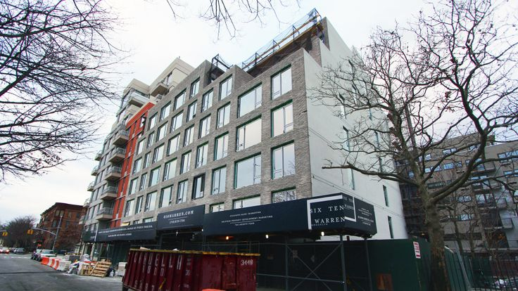 Boerum Hill's latest condo project at 610 Warren is almost complete; CityRealty