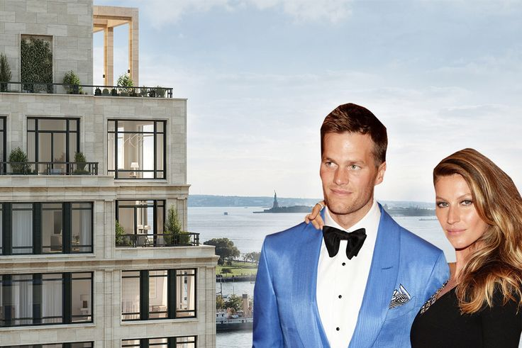Tom Brady and Gisele B??ndchen's $25.4M purchase in 70 Vestry was last week's top closing (rendering via Robert A.M. Stern Architects)