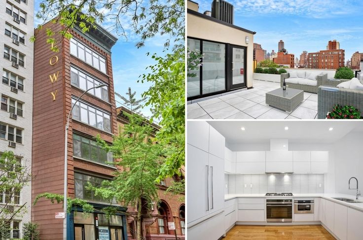 The Frame Building at 223 East 80th Street (Images via Corcoran)