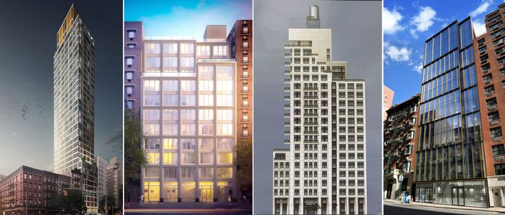 New developments planned for Kips Bay include (from L to R) 368 Third Avenue, 165 Lexington Avenue, 161 East 28th Street, 229 Lexington Avenue