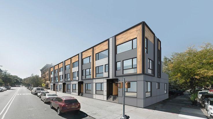 Latest rendering of Hello Townhouses via Hello Living
