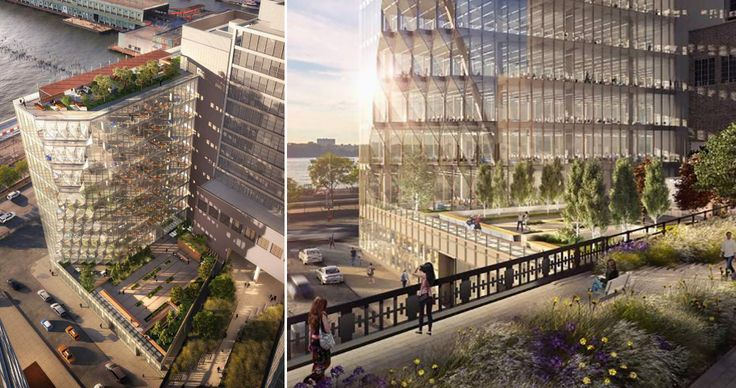 L: Renderings courtesy of HMWhite for Studio Gang Architects