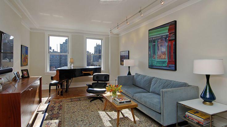 Living Room, 173 Riverside Drive, Condo, Manhattan, NYC