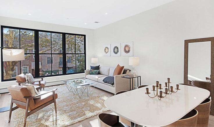 Living room of Residence #2 (Douglas Elliman)