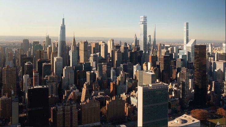Renderings of Tower Fifth via Gensler