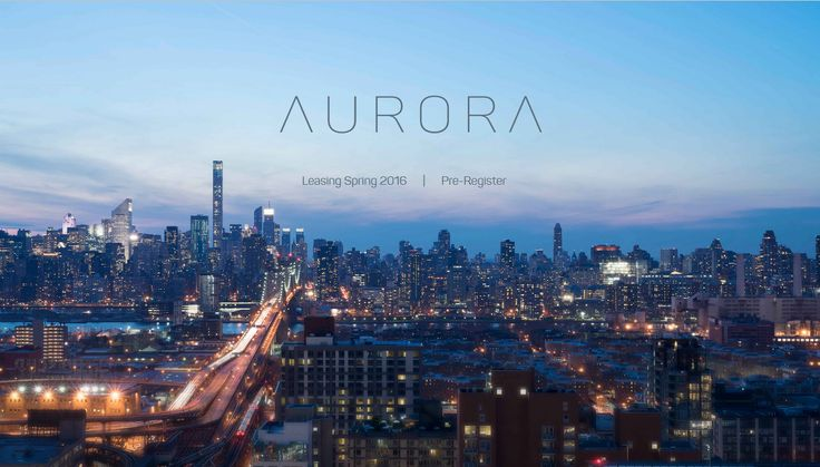 The residential portion of the 30-story building at 29-11 Queens Plaza North will be known as Aurora.
