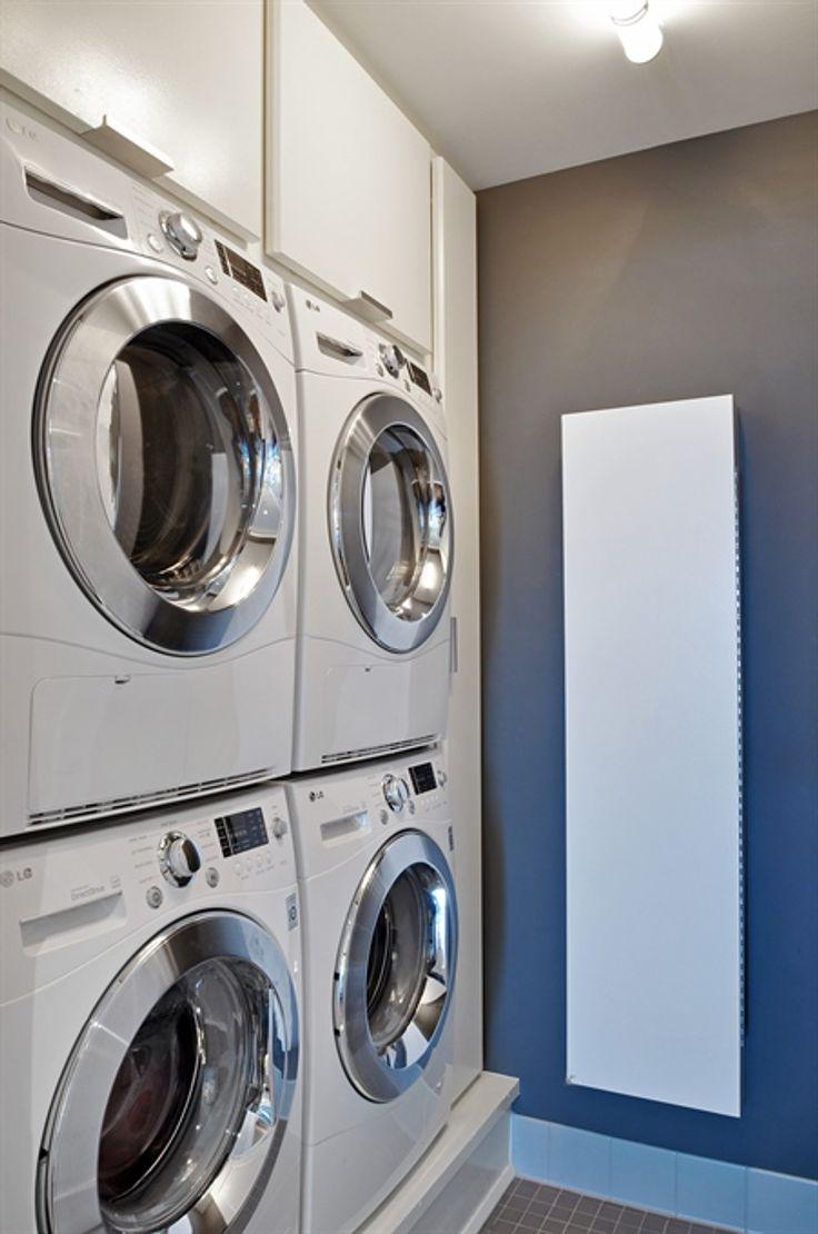 The Aldyn, 60 Riverside Blvd. Condo, Laundry Room