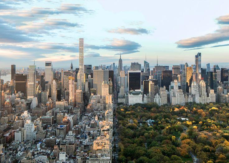 432 Park Avenue and Manhattan via RVA Architects