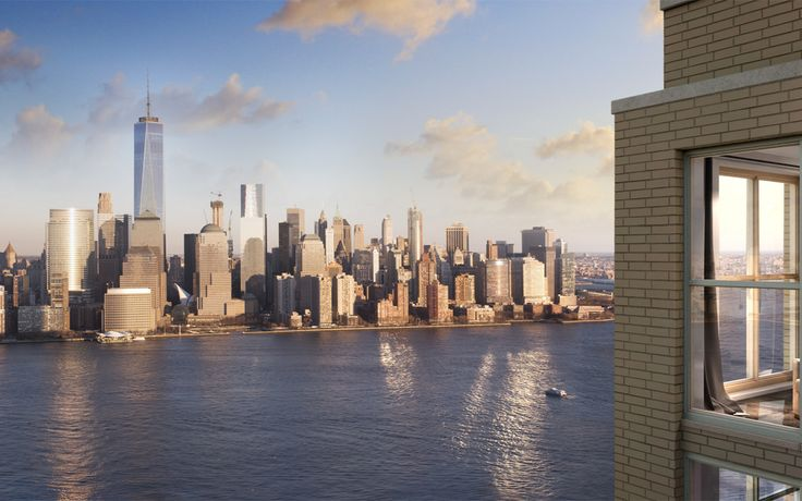 The 53-story tower offers sweeping views of the Manhattan skyline.