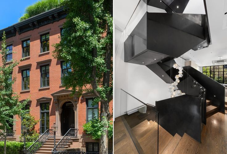 All images of 11 Saint Luke's Place via Douglas Elliman