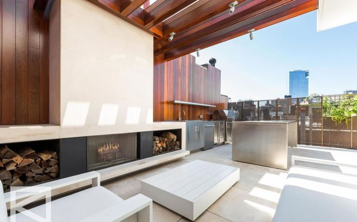 The expansive home is the second priciest listing in SoHo right now. Listing photos via Douglas Elliman