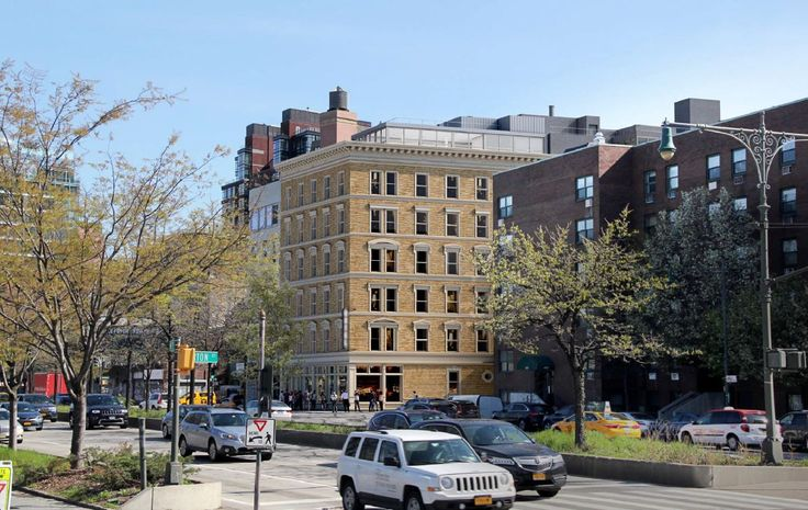 The Keller Hotel with new addition designed by Morris Adjmi Architects
