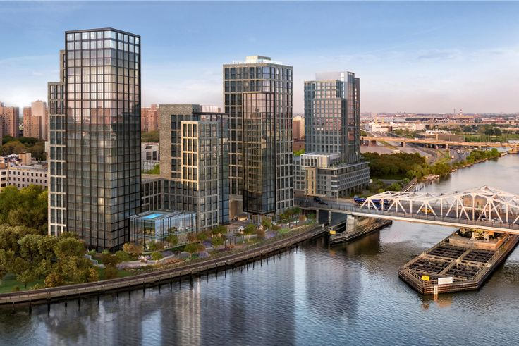 All renderings of Bankside courtesy of ArX Solutions via Brookfield Properties and Hill West Architects