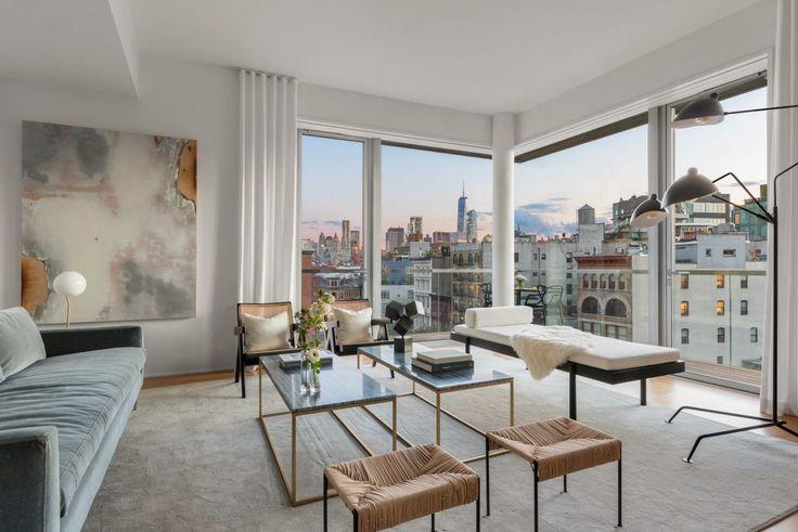 Corner living/great room