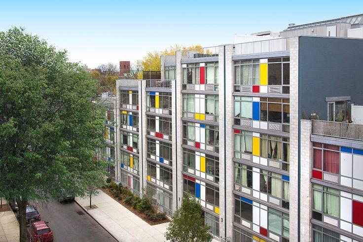 Spencer Street Apartments at 192 Spencer Street in Bedford-Stuyvesant, Brooklyn (Image via Bold New York)
