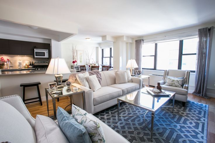 Stonehenge 33 offers renovated apartments with high-end finishes. (Image via Stonehenge NYC)