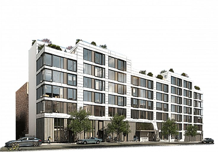 Rendering of 171 North 1st Street via Broadway Construction Group