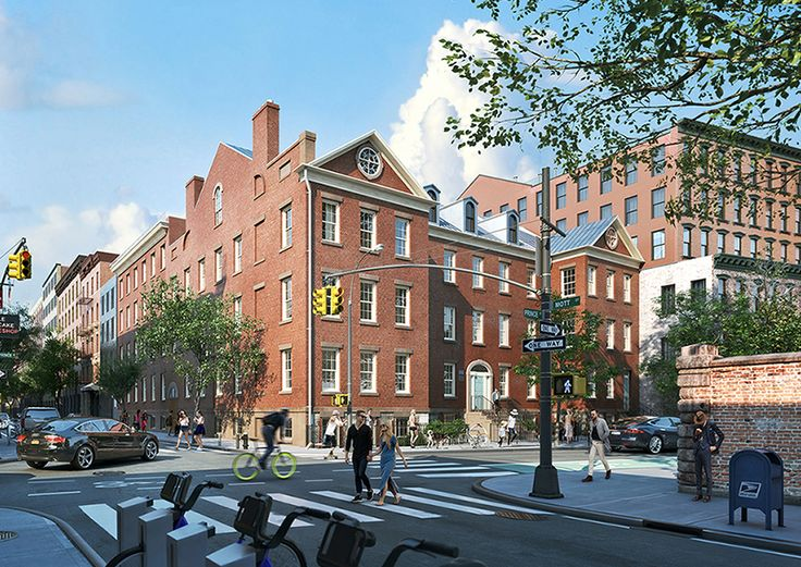 St. Patrick's Old Cathedral School at 34 Prince Street; Renderings by MARCH