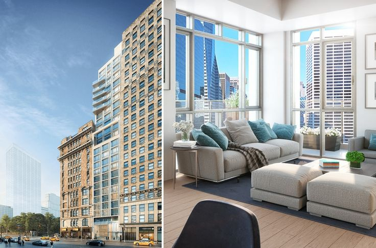 ML House at 1050 Sixth Ave in Midtown offers 62 open concept rental residences. (Images: mlhouse.nyc)