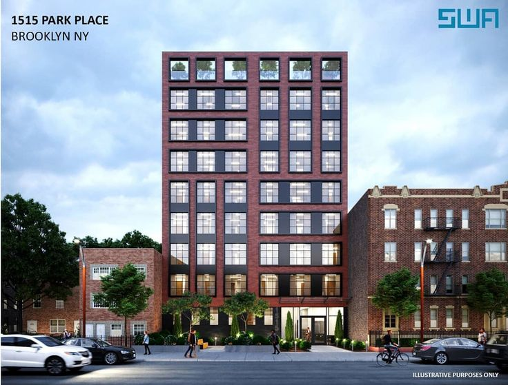Rendering of 1515 Park Place via Samuel Wieder Architects