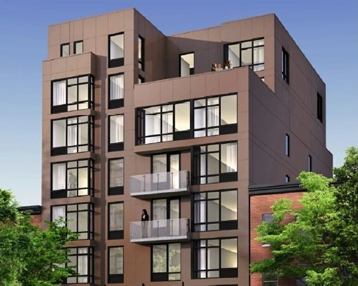 Rendering of The Robyn in the East Village via Citi Habitats