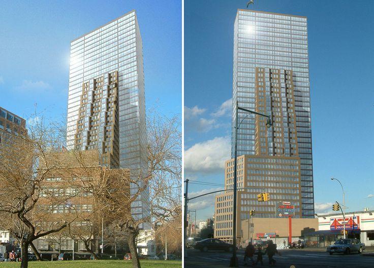 Unbuilt design for 147 Prince Street by Charles Diehl Architect
