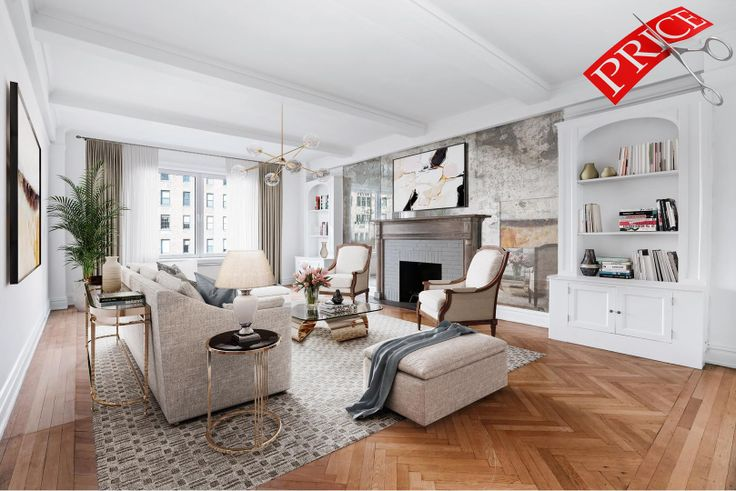 1111 Park Avenue, #9A is asking 43% less than its original asking price