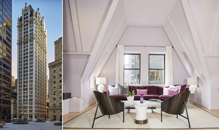 Liberty Tower's 3,000-square-foot penthouse is asking $2.695M (All listing photos via Brown Harris Stevens)
