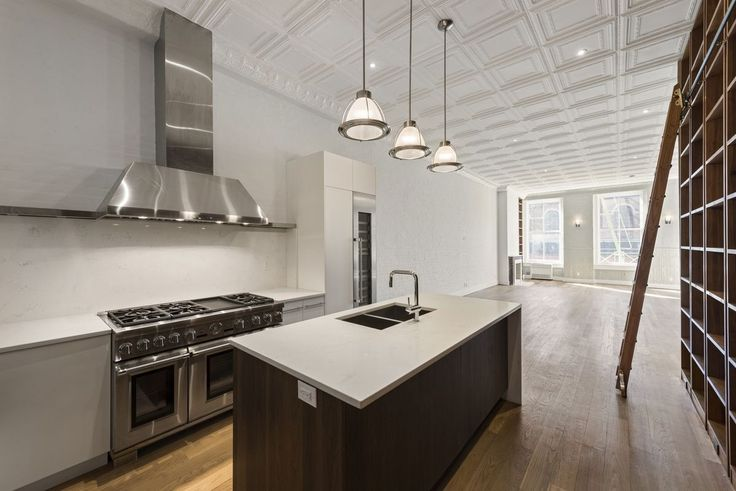 Brand new, full-floor loft residences have debuted at 124 West Houston Street in Greenwich Village. (Daizy Realty)
