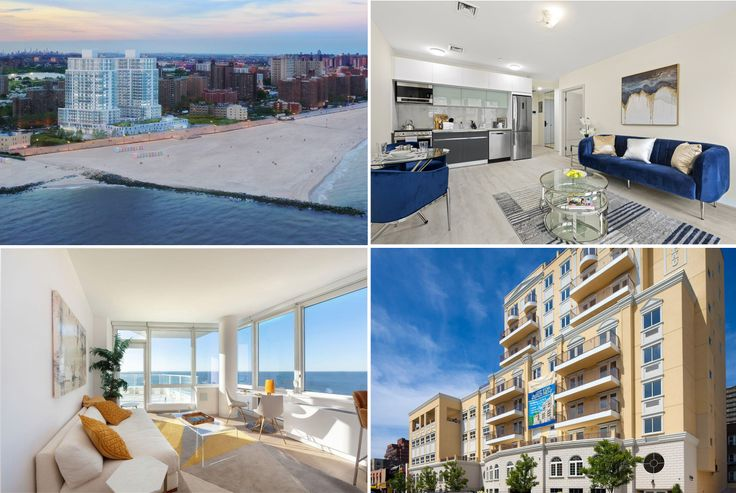 Compilation of new beachside developments in Coney Island and Brighton Beach