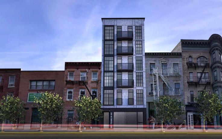 Rendering of 681 Franklin Avenue (Image Credit: Input Creative Studio)