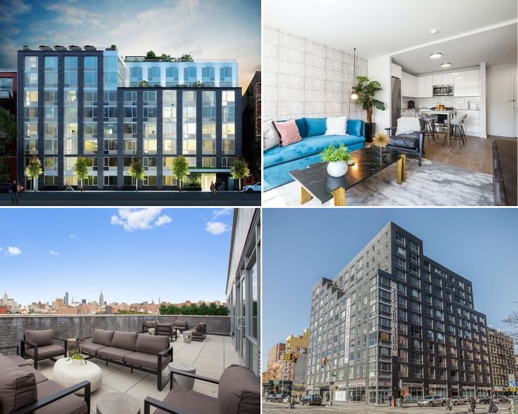 A selection of the latest buildings to remake the East Village rental market