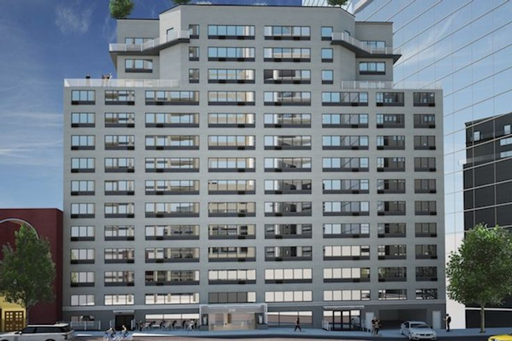 The Centra at 230 East 44th Street (Image via Bold New York)