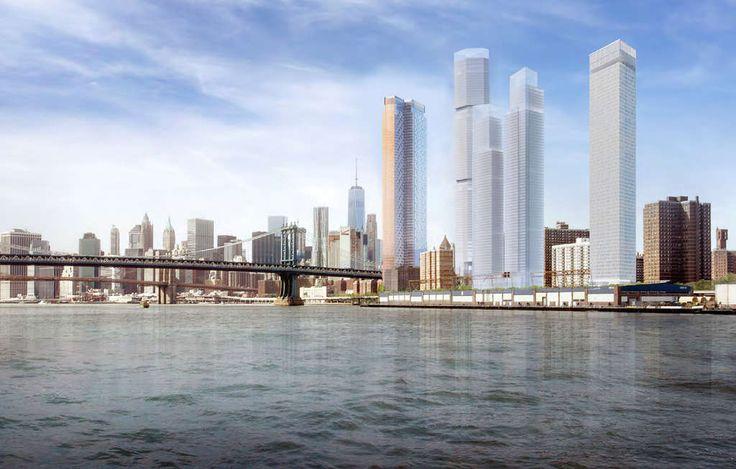 Rendering of Two Bridges via Handel Architects
