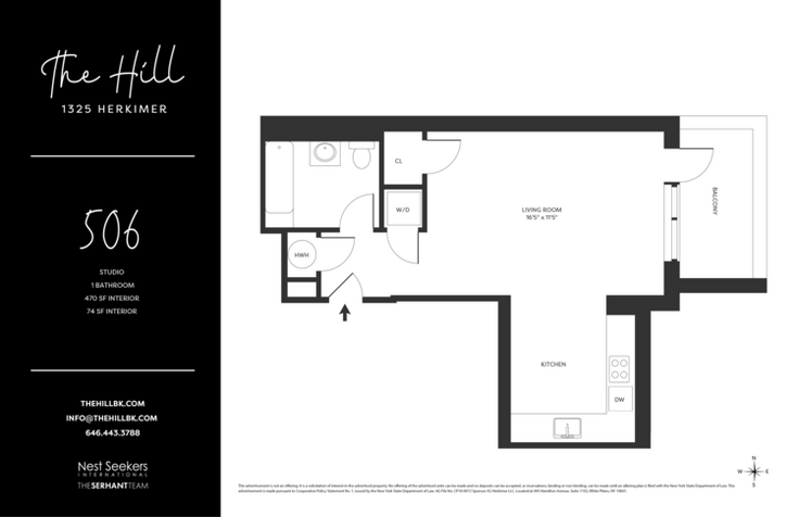 The Hill at 1325 Herkimer Offers Studio to 2 Bedroom Condos in