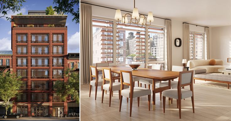 All renderings of Charlotte of the Upper West Side via Depict