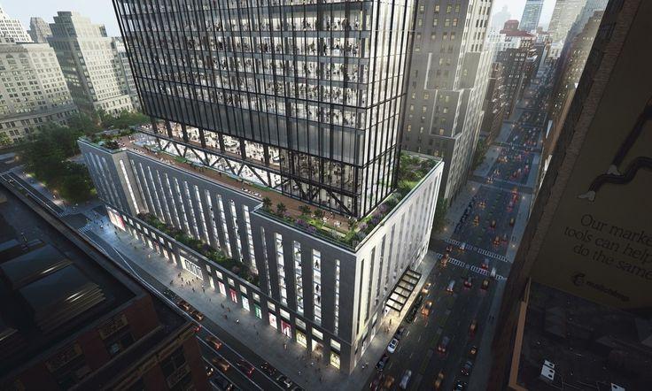 All renderings of One Madison Avenue courtesy of SL Green and Kohn Pedersen Fox