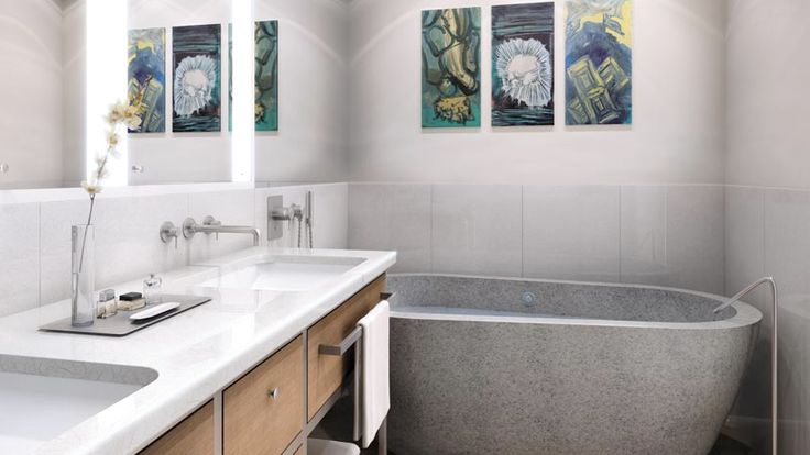 Bathroom, 200 Eleventh Avenue, Condo, Manhattan, NYC