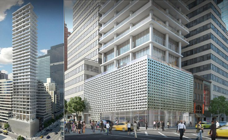 Rendering of 200 East 59th Streer. Image credit Studio amd for Macklowe Properties