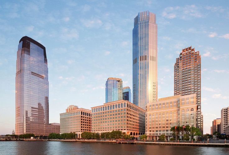 Skyline rendering of 99 Hudson via China Overseas America