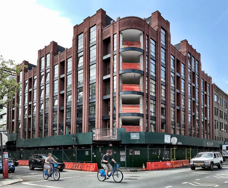 Exterior of 150 North 12th Street. For once, it actually looks better than the rendering. (CityRealty)