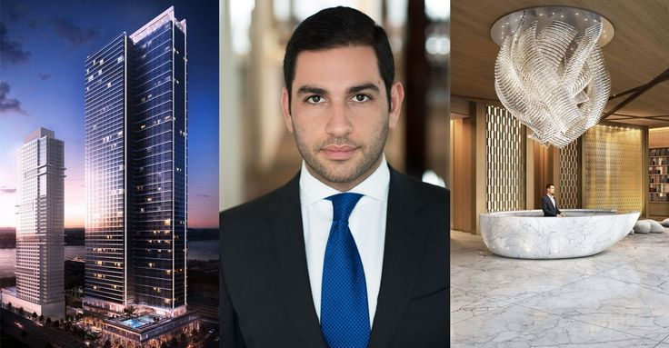 Mitchell Moinian with renderings of SKY