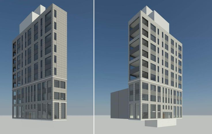 Renderings via DHD Architecture