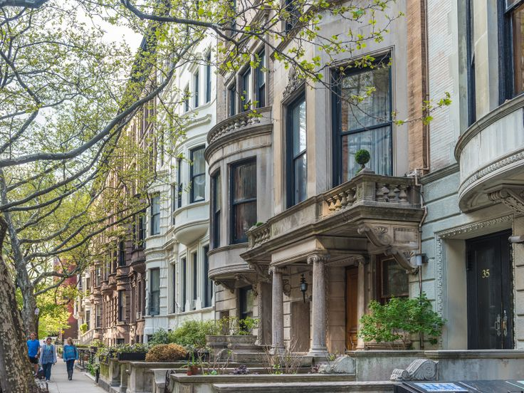 Rowhouses on the Upper West Side  (CityRealty)