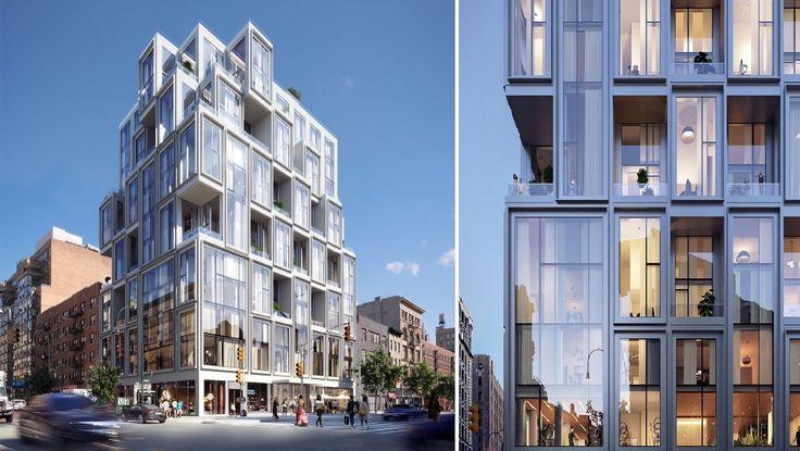 101 West 14th Street renderings credit of Binyan Studios via ODA New York, Nestseekers International